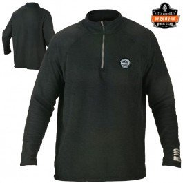 mance Work Wear 6445 Fleece, Black, 2X-Large (Ergodyne Core)