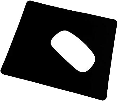 Mouse PadNon-Slip Rubber Base Premium-Textured Waterproof Mousepads BulkStitched Edges for Computers Office Home (270x220x3mm) 1 Pack Black