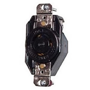 Hubbell T28430-30 Amp 250V NEMA L6-30 Single Phase Twist Lock Receptacle (Nema 6 30r Receptacle)