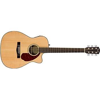 fender cc 140sce acoustic electric guitar concert body style natural finish. Black Bedroom Furniture Sets. Home Design Ideas