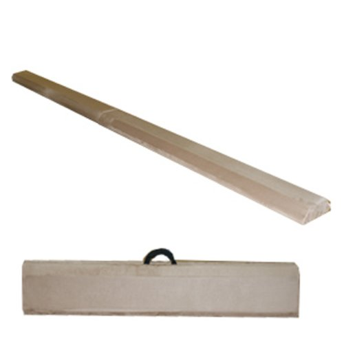 The Beam Store 8-Feet Low Profile Folding Beam (Tan) WOOD CORE Made in USA