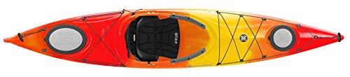 Perception Carolina 12.0 Kayak, Red/Yellow