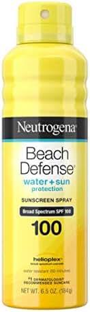 Neutrogena Beach Defense Oil-free Body Sunscreen Spray (Pack of 24)