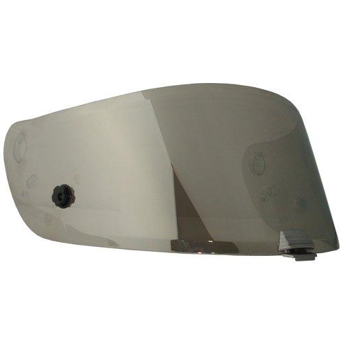 HJC HJ-20 Shield / Visor Gold,Silver,Blue,Smoke,Clear,Pinlock Ready, For R-PHA 10, RSP 10 helmets, Bike Racing Motorcycle Helmet Accessories - Made in Korea (Silver)