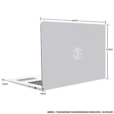 Ordenador portátil económico de Pantalla Grande y liviano DE 1,5 kg con Oficina Disponible Durante 6 Horas seguidas (Blanco): Amazon.es: Informática