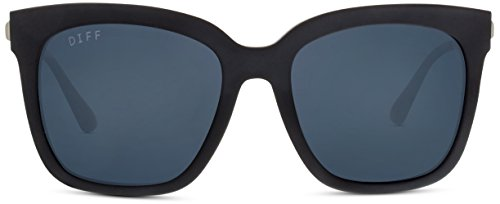 Designer Sunglasses - Diff Eyewear - Bella - Square Glasses - 100% UVA/UVB