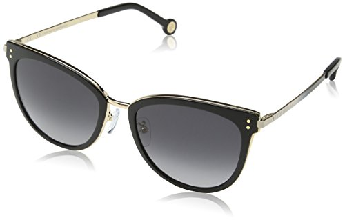 Shiny Rose Gold SHE102 Caroline de Sol Gafas para Dorado Herrera Mujer BznOwq8x