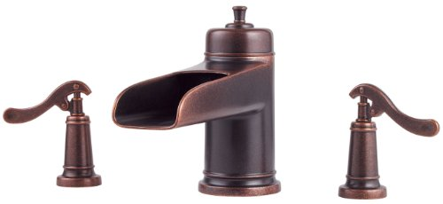 Ashfield Tub (Pfister Ashfield 2-Handle Roman Tub Faucet, Rustic Bronze)