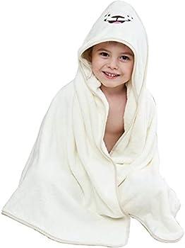 PPogoo 41.3x41.3 Baby Hooded Towel