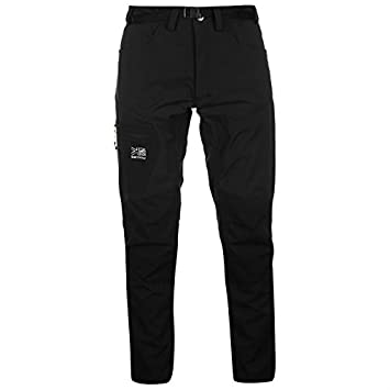 Karrimor Mens Hot Rock Trousers Lightweight Waterproof Pants Casual Bottoms  Black S 8d3218a2a
