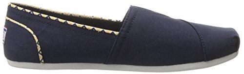 Chill Skechers Chaussure Flotteurs Navy De Luxe yellow n5BnxEr8