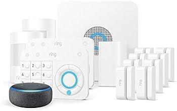 14-Piece Ring Alarm Kit Works With Alexa + Echo Dot