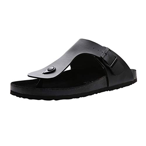 Flops Mens Thongs Black VVFamily Black On Sandles Slides Slippers Flip Boys Slip Sandals aPxwdzOqvP