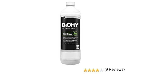 BiOHY Limpiador de horno (1 botella de 1 litro) | Limpiador de parrilla, removedor de grasa para una limpieza fácil y rápida del horno, sin necesidad de fregar (Backofenreiniger): Amazon.es: Salud y