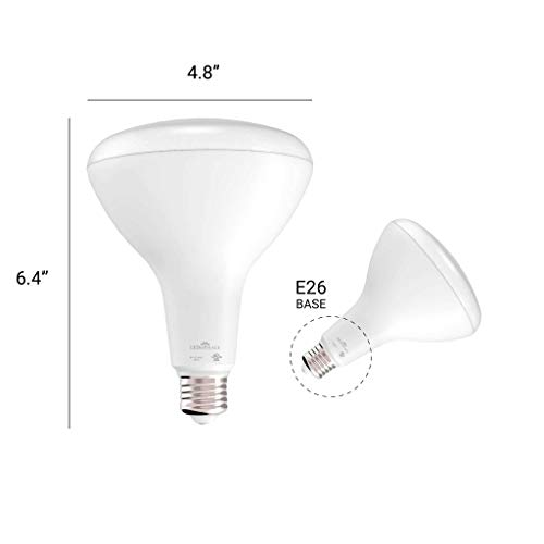 Ledmyplace 6 Pack 15 5w Br40 Dimmable Led Bulbs 120 Volt 3000k