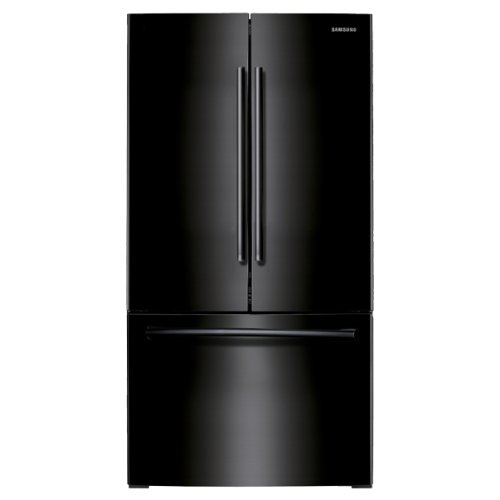 RF260BEAEBC 26 cu. ft. French Door Refrigerator With Twin Cooling Plus System Gallon Door Bins EZ-Open Handle Two Humidity Controlled Crispers & In ()