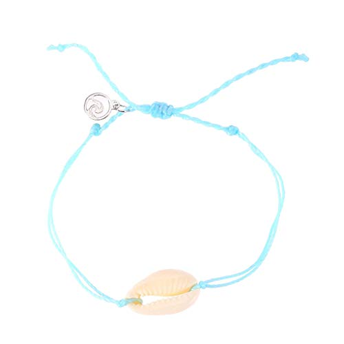 Natural Shells Necklaces Bracelet for Women Girls Hawaii Adjustable Beach Cowrie Seashell Beads Choker Bracelet Summer Shell Jewelry Set]()