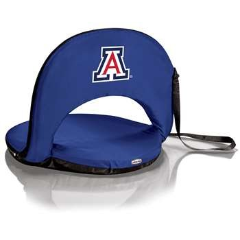 PICNIC TIME NCAA Arizona Wildcats Oniva Seat with Blue Digital Print, One Size, Navy