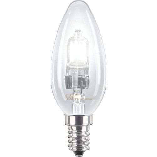 Long Life Lamp Company Halogen-Kerzenlampe Eco E14 Edison SES 28 W dimmbar 10 Stü ck Long Life Lamp Compnay LLLCECOHALCANE1428W