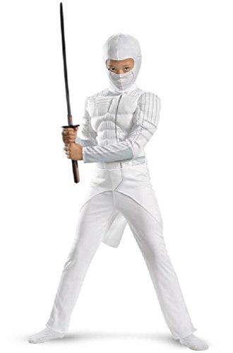 [8eighteen GI Joe Retaliation Storm Shadow Ninja Classic Child Halloween Costume] (Gi Joe Cosplay Costumes)