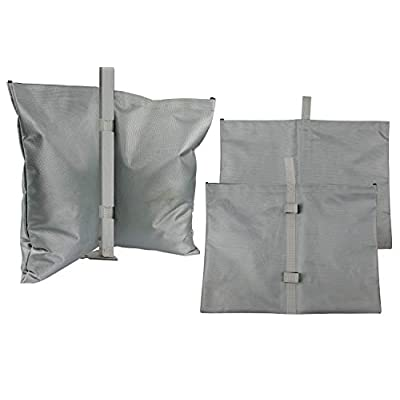 GigaTent Canopy Sand Bags - Tent Weights for Instant Outdoor Sun Shelter, Pop Up Tent, Gazebo, Canopy, Party Tent - Easy to Use, Heavy Duty Strong Material - Sandbag Leg Weights Pack of 2: Clothing