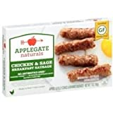 Applegate, Natural Chicken & Sage Breakfast Sausage, 7oz (Frozen)