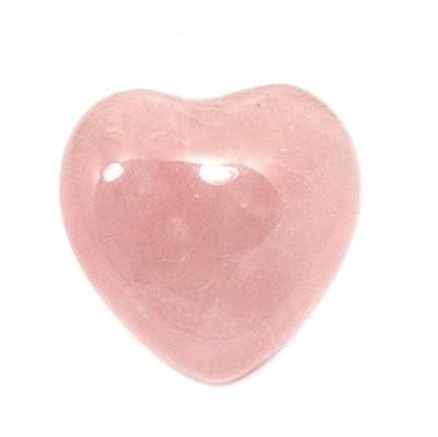 Rose Quartz Mini Crystal Heart - 2.5cm by CrystalAge