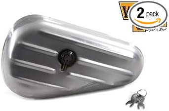 V-Twin 50-0600 Oval Right Side Chrome Tool Box