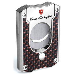 Tonino Lamborghini TNF002021 Les Mans cigar Cutter - Red Carbon Fiber (Tonino Lamborghini Cutter)