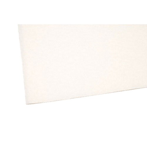 (Darice Felt Square, 9-Inch by 12-Inch, White, 25 Pieces)
