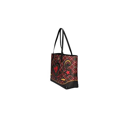 Braccialini 11600 Shopping Bag Mujer Leopardo UNICA Tartan