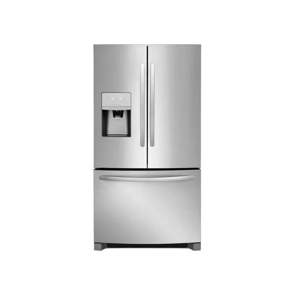 Frigidaire 36″ Energy Star Freestanding French Door Refrigerator with 26.8 cu. ft. Total Capacity, PureSource Ultra II Ice & Water Filtration, Ice Maker, and Drawer