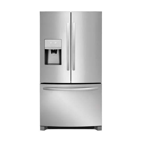 (Frigidaire FFHB2750TS 36 Inch French Door Refrigerator with 26.8 cu. ft. Total Capacity, in Stainless)