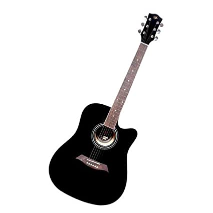 Gc 41 C Acoustic Guitar With Free Gig Bag Black Amazon In Musical