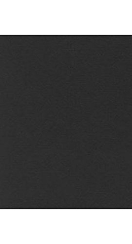8 1/2 x 11 Cardstock - Black Linen (50 Qty) | Perfect for Printing, Copying, Crafting, various Business needs and so much more! | 81211-C-BLI-50