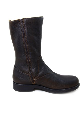 Boots Coffee Leather Nose Beautiful PINSK2582MJ gvSBxwZq