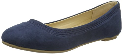 Another Pair of Shoes Bellaae1, Bailarinas para Mujer Azul (denim blue675)