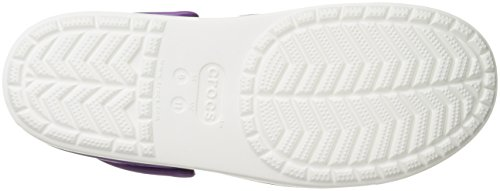 Clog white Various blanc Mixte Citilane Rouge Crocs Sabots amethyst Adulte Violet f4HPFqT