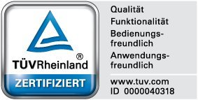Broil-master - Barbacoa a Gas BBQ Negra para parrillada Calidad certificada por TÜV Rheinland