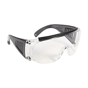 Allen Over Shooting & Safety Glasses for Use with Prescription Glasses