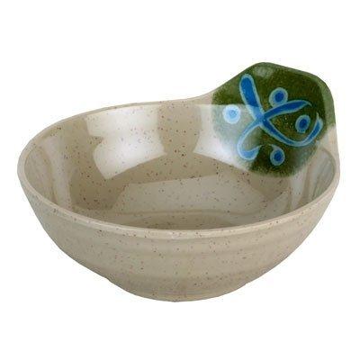 JapanBargain S-2358 Green Melamine Tempura Sauce Bowl #5100/M (Tempura Bowl Sauce)