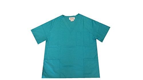 NATURAL UNIFORMS Women's Scrub Top Medical Scrub Top XS ()