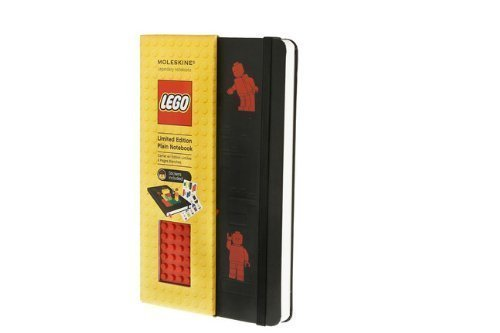 Lego Limited Edition Red Brick Plain Large Black Cover by Moleskine (Jan 2 2012) ()