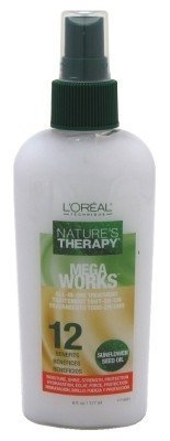 Loreal Natures Therapy Mega Works All In One Treatment Spray 6 Ounce (177ml)