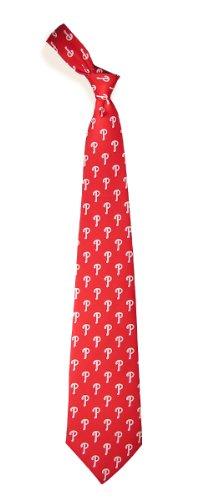 Mlb Necktie - Philadelphia Phillies MLB Pattern Poly