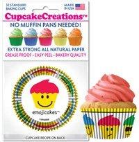 Emoji Premium Paper Cupcake Liners 32 count