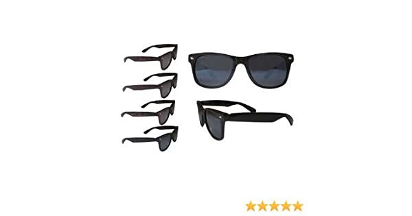 464c82347b2 Amazon.com  (2 count) Retro Risky Business Blues Brothers Wayfarers  Sunglasses with Black Frame  Everything Else