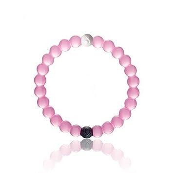 32d1fafb7e34 De silicona color rosa Talla S M L XL Lokai como el de la pulsera