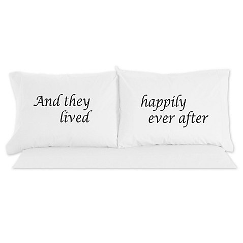 Micro Flannel Happily Ever After Novelty Printed Pillowcases (Happily Ever After High Dolls)