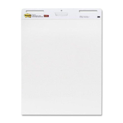 Self-stick Easel Pads, Plain, 30 Shts, 25''x30'', 2/CT, White, Sold as 1 Carton - 3M * Self-stick Easel Pads, Plain, 30 Shts, 25''x30'', 2/CT, White